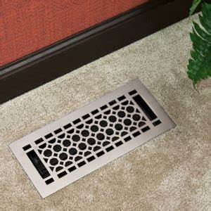 Honeycomb floor register with louvers 2 1 4quot x 10quot 3 1 for Antifungal bathroom paint