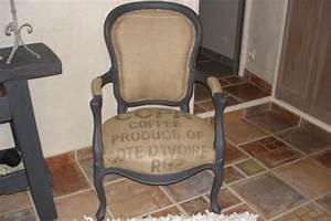 Fauteuil Ancien Bergere : fauteuil ancien customis photo 2 8 berg re qui a t peinte puis recouverte de ~ Teatrodelosmanantiales.com Idées de Décoration