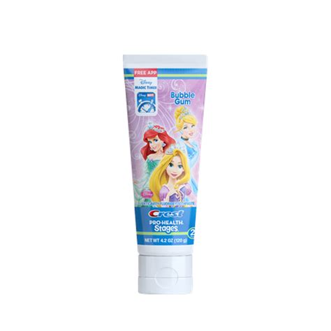 crest pro health stages disney princesses toothpaste crest