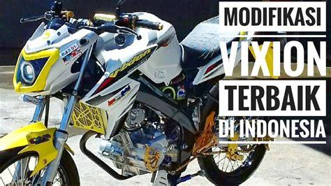 Foto Motor Vixion by Foto Modifikasi Motor Yamaha V Ixion Terkeren Dan Terbaru