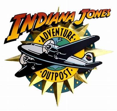 Disney Indiana Jones Adventure Logos Clip Outpost