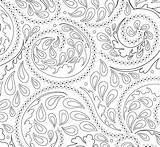Coloring Elegance Modern Hop Print Entwined Imagine Rainbow Done Colors Fabric sketch template
