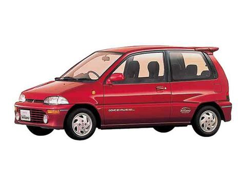 cat orie si e auto 三菱 ミニカ 660 ミューg 3at 定員 4人 1990年02月 1991年04月 実燃費 14 75km