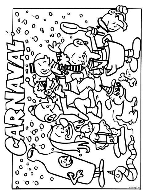 Carnaval Kleurplaat Peuters by Kleurplaat Carnaval Kleurplaten Nl Carnaval