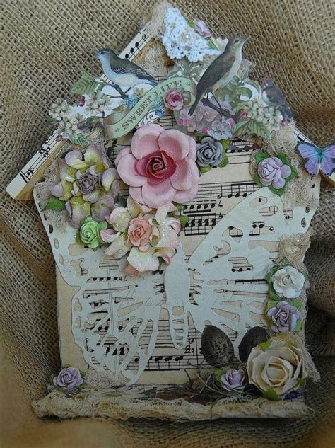 shabby chic craft projects shabby chic bird nest crafty bits grab a cuppa and enjoy pinte