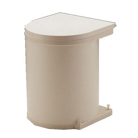 poubelle cuisine de porte poubelle de porte automatique 1 seau de 13 litres bricozor