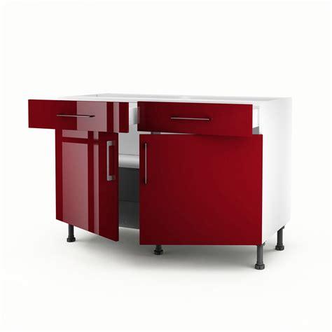 meuble bas cuisine castorama meuble de cuisine bas 2 portes 2 tiroirs griotte h 70 x l 120 x p 56 cm leroy merlin