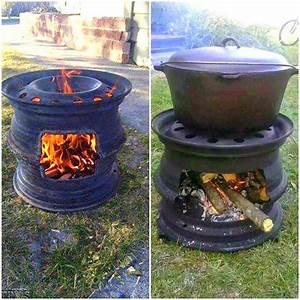 Fabriquer Un Barbecue Avec Un Bidon : r cup et fait maison id e r cup faire un barbecue avec des objets r cup ~ Dallasstarsshop.com Idées de Décoration
