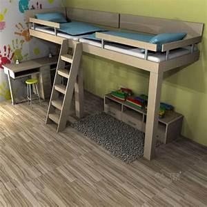 Hochbetten Für Kinder : hochbetten f r kinder fabricaci n y construcci n en 2019 pinterest bedroom bed y kid beds ~ Orissabook.com Haus und Dekorationen