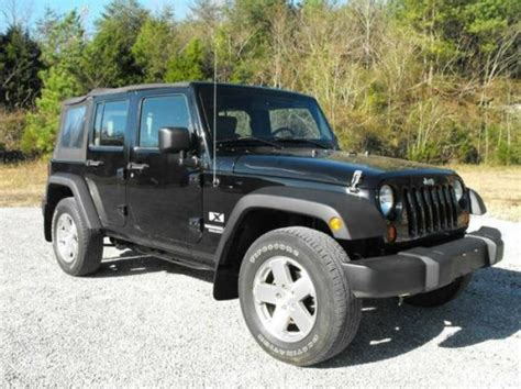 2009 Jeep Wrangler Unlimited X For Sale In Knoxville, Tn