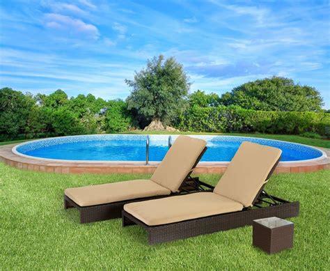 sdraio per terrazzo lettini prendisole in rattan per terrazzo e giardino