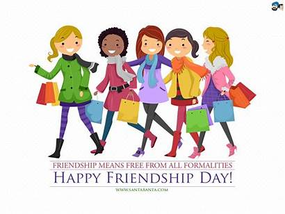 Friendship Happy Friends Clipart Wallpapers Friend Shopping
