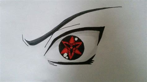 How To Draw The Sharingan,
