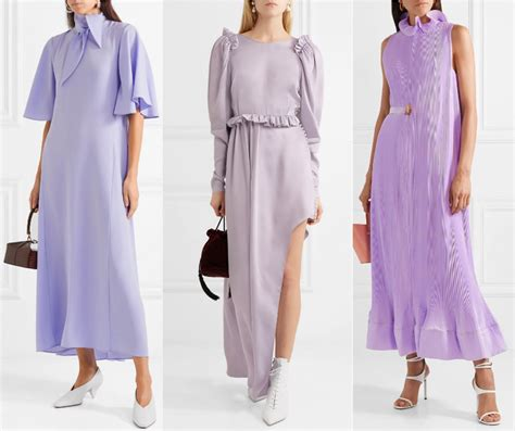 what color shoes to wear with purple dress