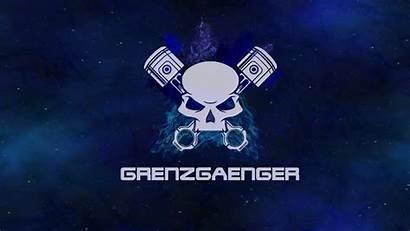 Logos Grenzgaenger Blau Club Motorcycle Xps Produkte