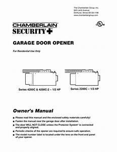 Liftmaster Garage Door Keypad Owners Manual