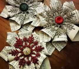 esszimmer deko weihnachtsdeko selber basteln aus papier mit anleitung