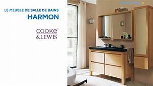 meuble de salle de bains harmon cooke lewis 666527 With castorama meubles de salle de bain