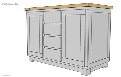 plans to build a kitchen island how to build a diy kitchen island cherished bliss 9139