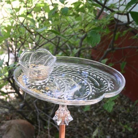 upcycled tea cup bird feeder  laughingravensgarden