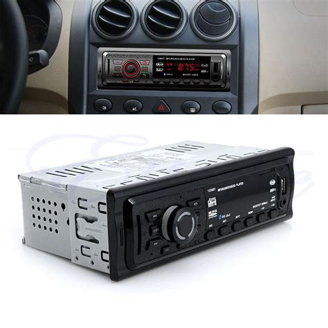 Car Radio With Aux by Bluetooth Car Stereo Audio In Dash Fm Aux Input Receiver