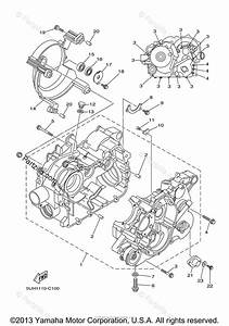 Yamaha Atv 2004 Oem Parts Diagram For Crankcase