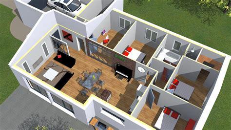 Exemple Interieur Maison Modele Maison U Mulhouse U Plan De Maison 3d Onetosix