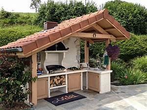 Cuisine D Ete Extérieure : barbecue fa on cuisine d 39 t estivale roc de france ~ Carolinahurricanesstore.com Idées de Décoration