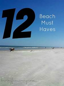 Must Haves Sommer 2015 : 12 beach must haves beach must haves beach summer ~ Eleganceandgraceweddings.com Haus und Dekorationen