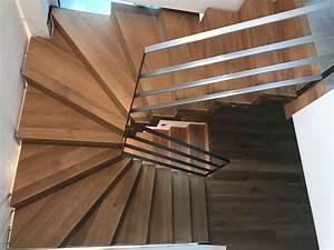 Halbgewendelte Treppe Konstruieren : die besten 25 halbgewendelte treppe ideen auf pinterest wendeltreppen bodentreppe und ~ Orissabook.com Haus und Dekorationen