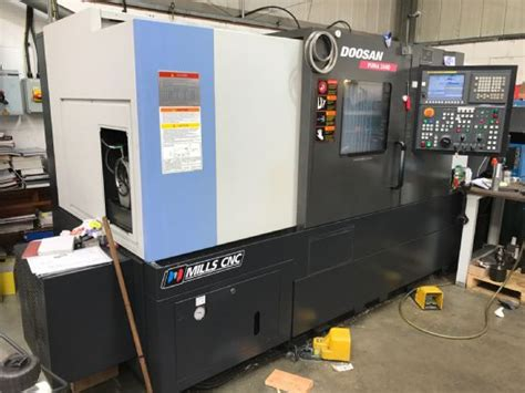 doosan puma  cnc lathe   sale machinery