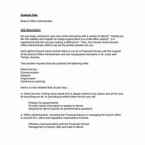 Office Administrator Job Description Related Keywords Best ...
