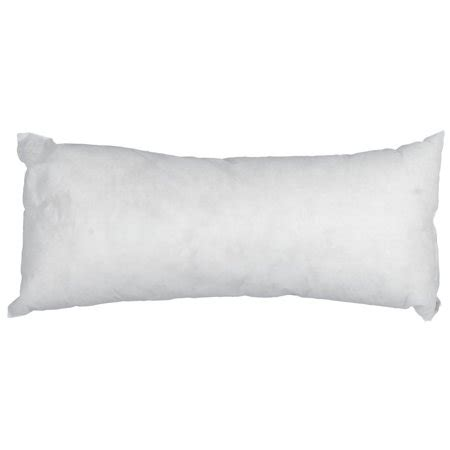 walmart pillow forms bolster pillow insert walmart
