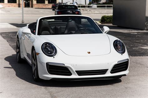 Also impressive is the torque rating of the new engine, 331 pound per the previous 911 carrera s used a 3.8 liter engine. Used 2017 Porsche 911 Carrera S For Sale ($97,900) | Marino Performance Motors Stock #155114