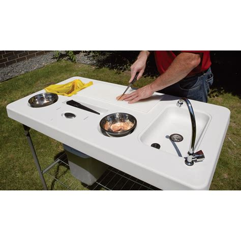 folding fish cleaning table best portable fish cleaning table with image emailcash