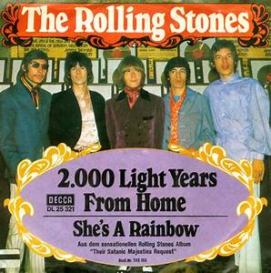 The Rolling Stones - 2000 Light Years From Home at Discogs