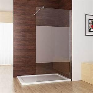 Dusche Mit Glaswand : walk in dusche duschwand duschtrennwand duschabtrennung 10mm nano esg glas 200cm ebay ~ Orissabook.com Haus und Dekorationen