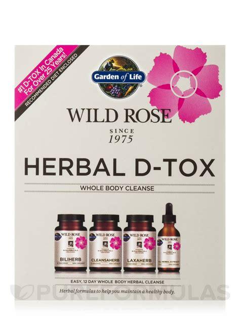 garden of herbal d tox kit reviews garden