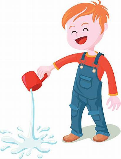 Pouring Water Clipart Pour Vector Spilled Spilling