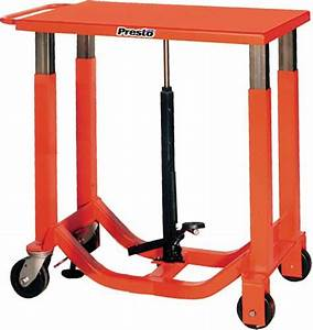 Presto Lifts Manual Post Lift Tables
