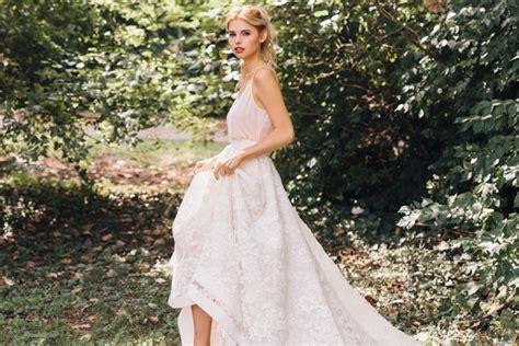 22 Super Stylish Two-piece Wedding Dresses