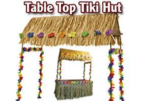 Tabletop Tiki Hut by Tables Archives Plus Mount Pleasant Rental
