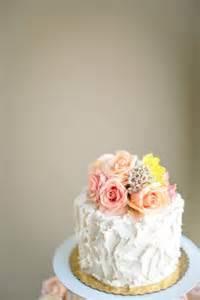fresh flower cake topper yes pls