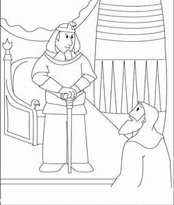 Free coloring pages of moses pharaoh