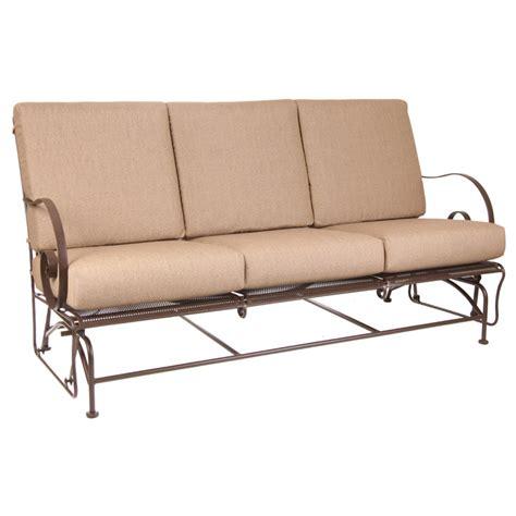 patio furniture loveseat glider ow avalon sofa glider furniture for patio