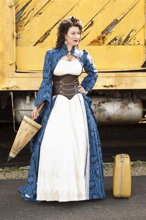 Adriannas Incredible Steampunk Wedding Dress Offbeat Bride