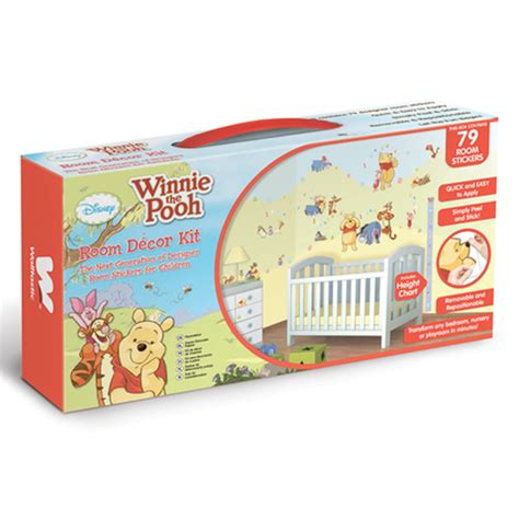 winnie the pooh bedroom decor disney winnie the pooh room decor kit 79