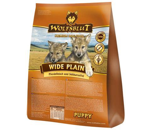 wolfsblut wide plain puppy pferd suesskartoffeln