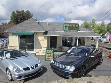 nohrs auto brokers  walnut creek ca information