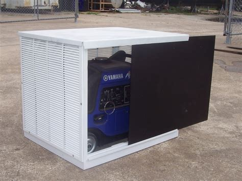 outdoor portable generator shed 9 best generator enclosure images on